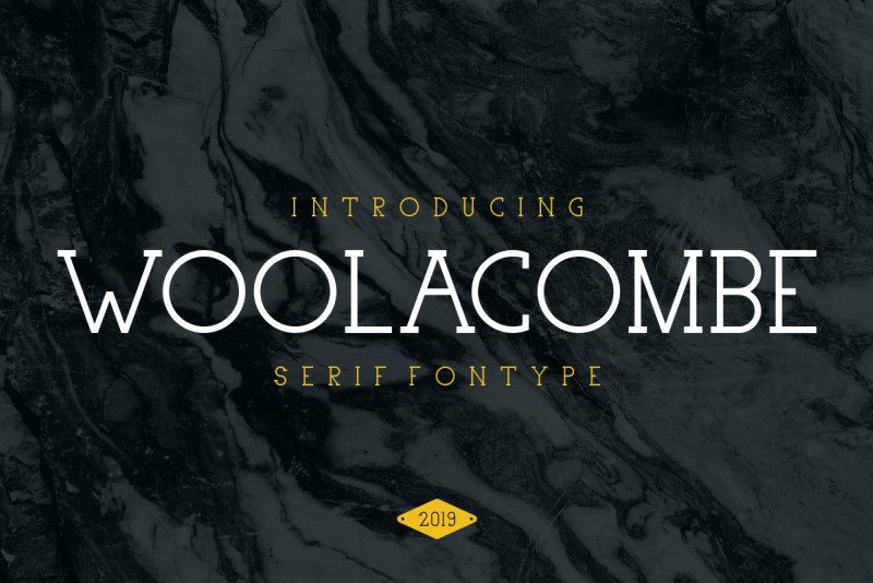 Download Woolacombe font (typeface)