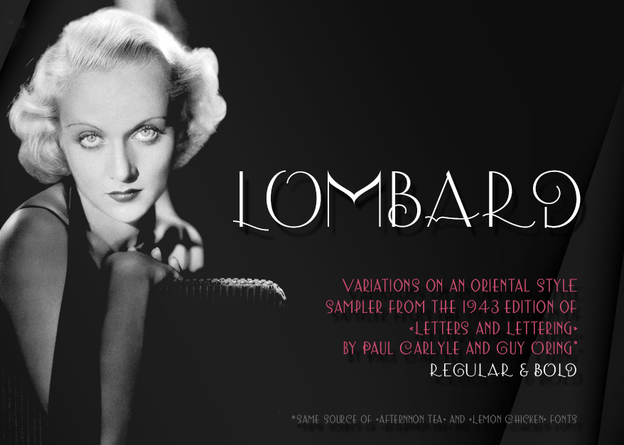 Download Lombard font (typeface)