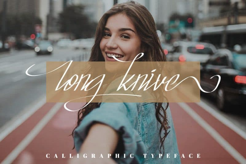 Download Long Knive font (typeface)