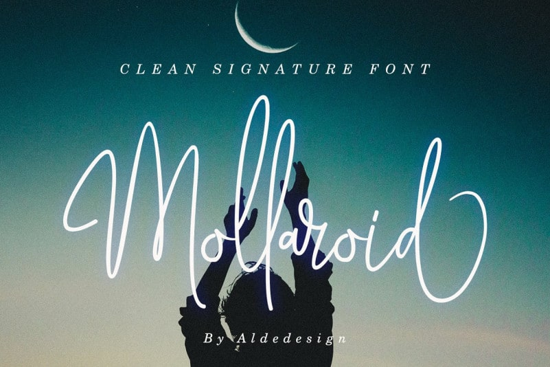 Download Mollaroid font (typeface)