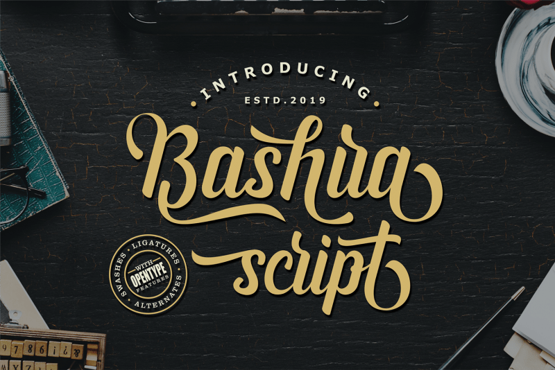 Download Bashira font (typeface)
