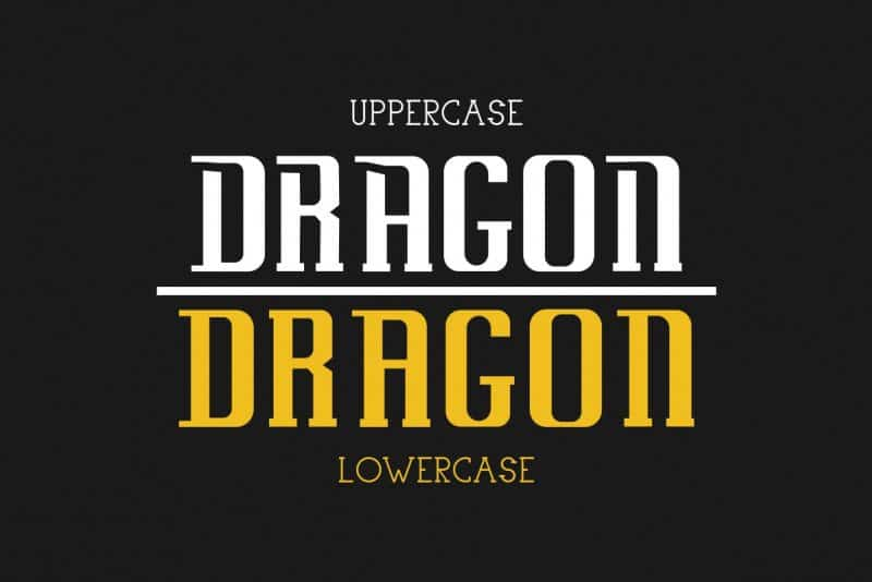 Download Uovo Di Drago font (typeface)