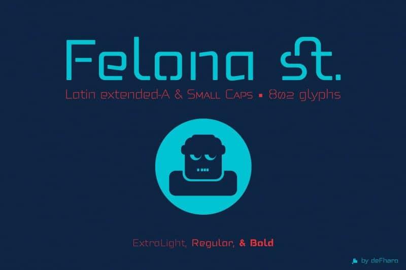 Download Felona St. font (typeface)