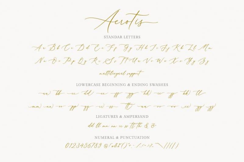Download Aerotis font (typeface)