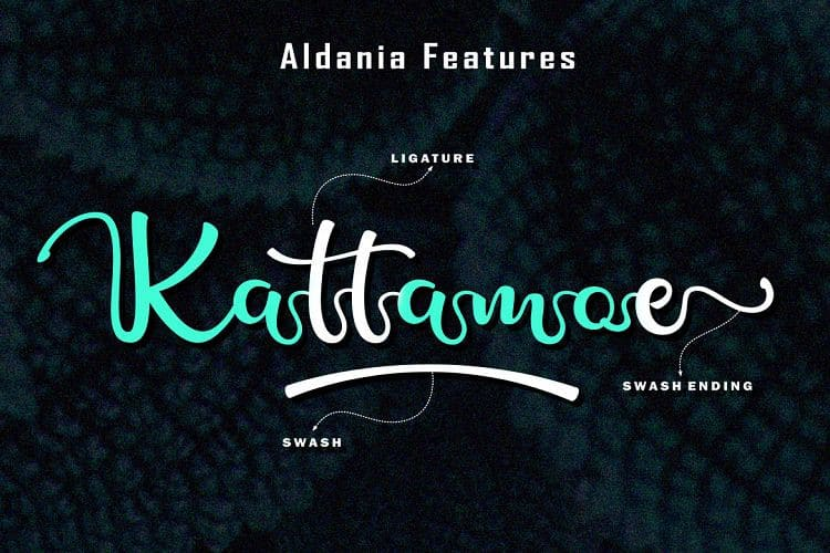 Download Aldania font (typeface)