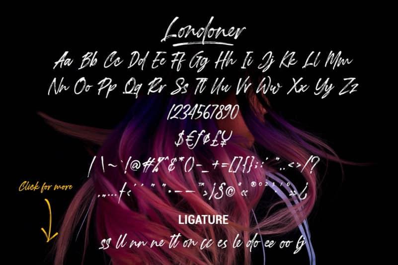 Download Londoner font (typeface)