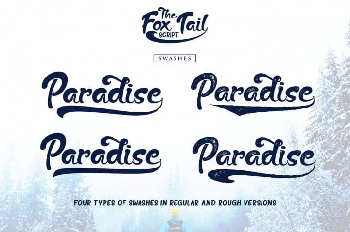 Download The Fox Tail font (typeface)