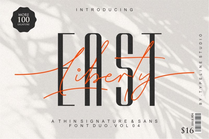 Download East Liberty font (typeface)