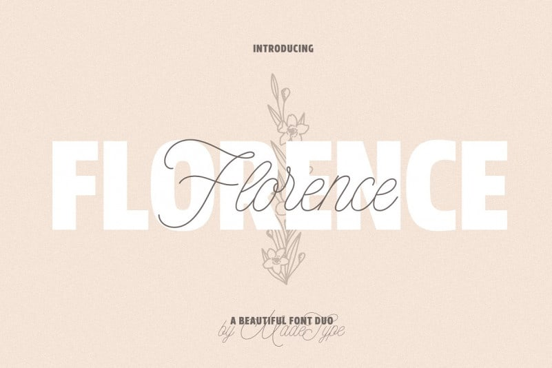 Download Florence font (typeface)