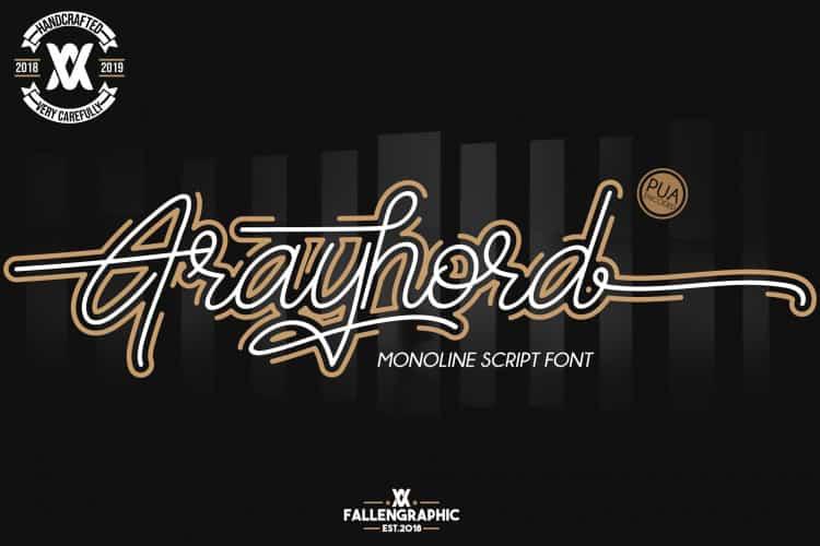 Download Frayhord font (typeface)