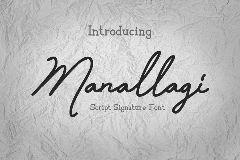 Download Manallagi font (typeface)