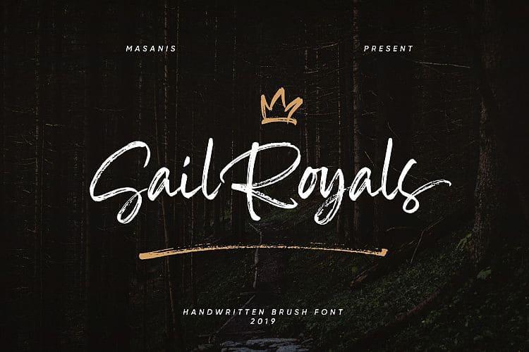 Download Sail Royals font (typeface)