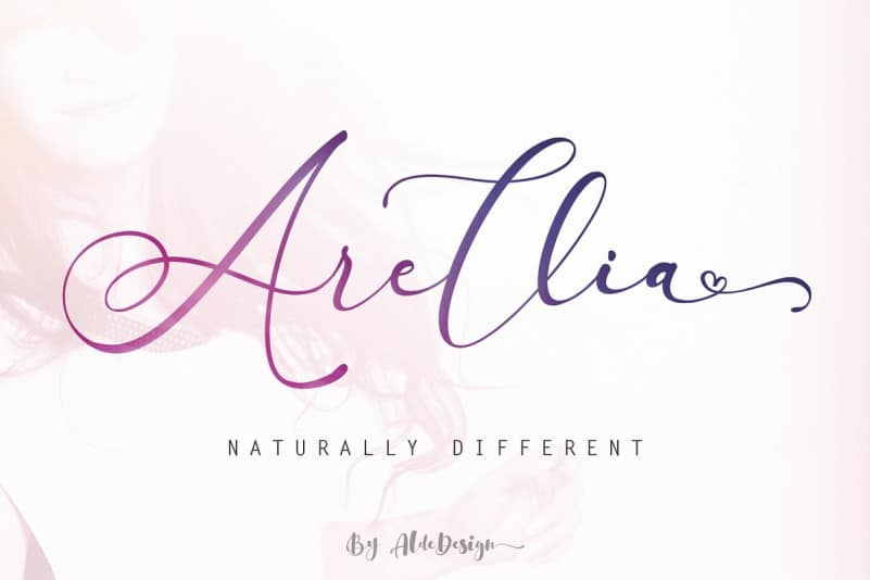 Download Arellia font (typeface)