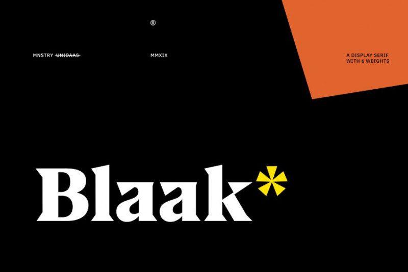 Download Blaak font (typeface)