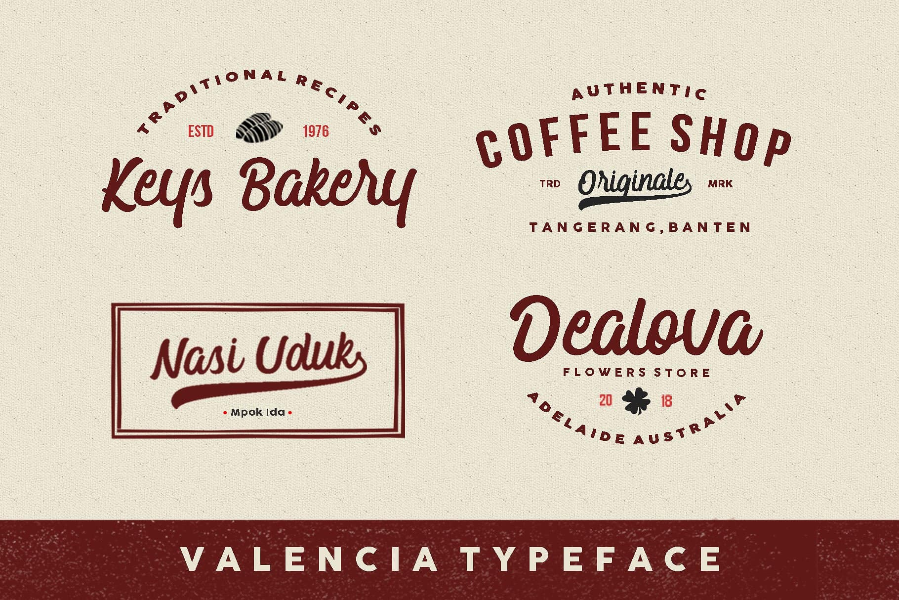 Download Valencia font (typeface)