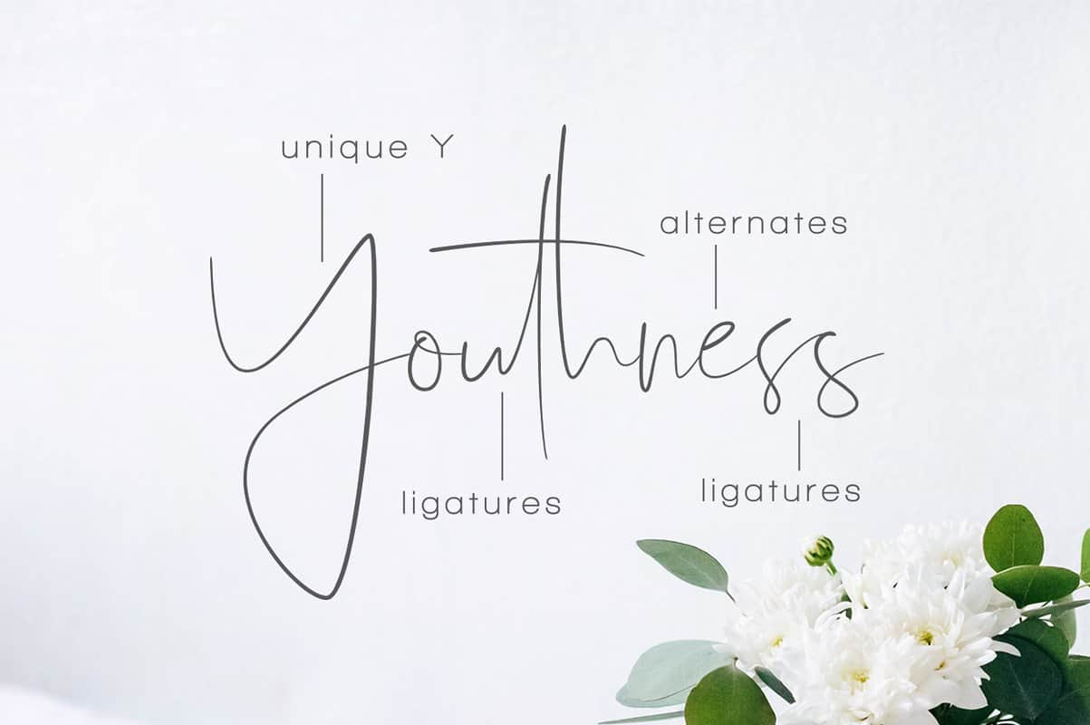Download Youthness font (typeface)