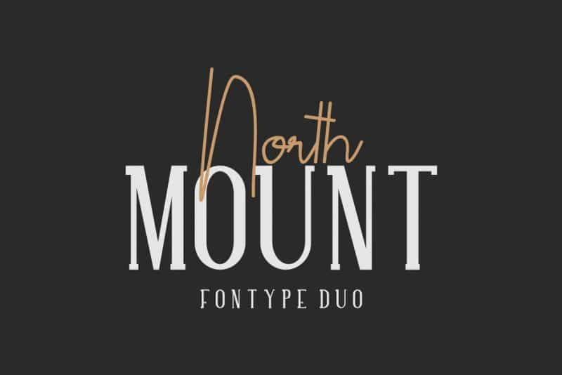 Download North Mount font (typeface)