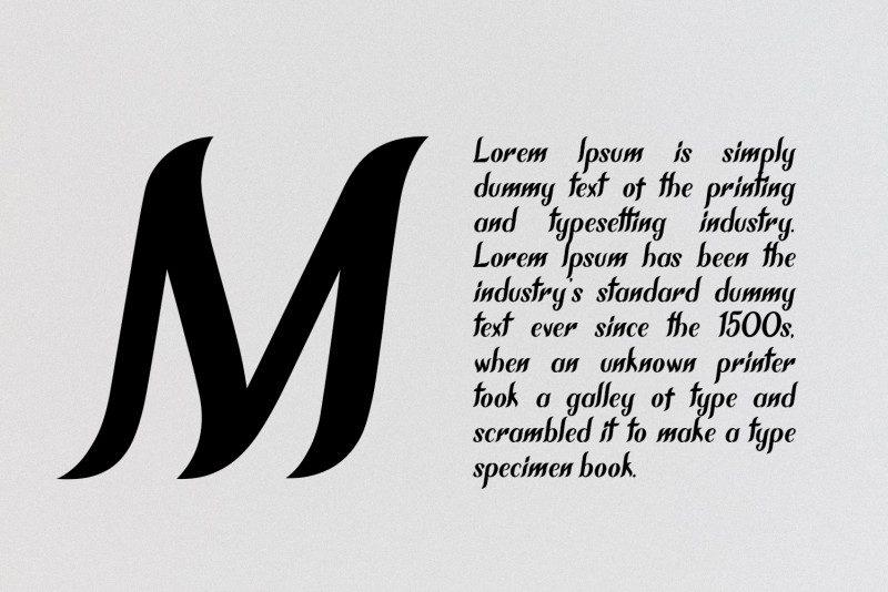 Download Chameron font (typeface)