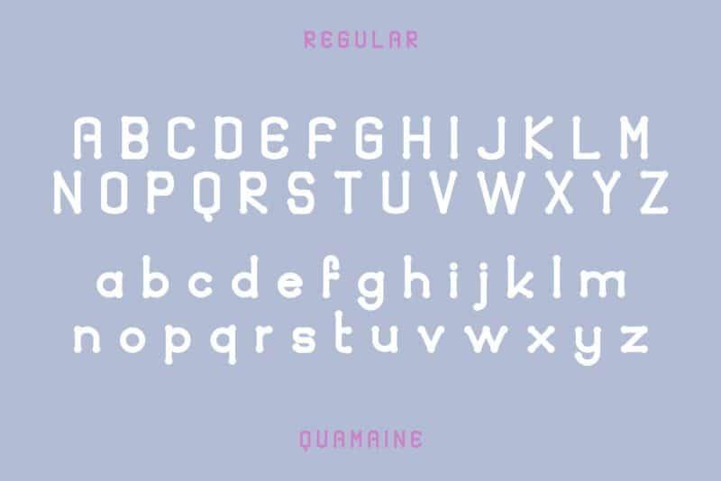 Download Quamaine font (typeface)