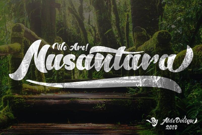 Download Anthem of Narasi font (typeface)