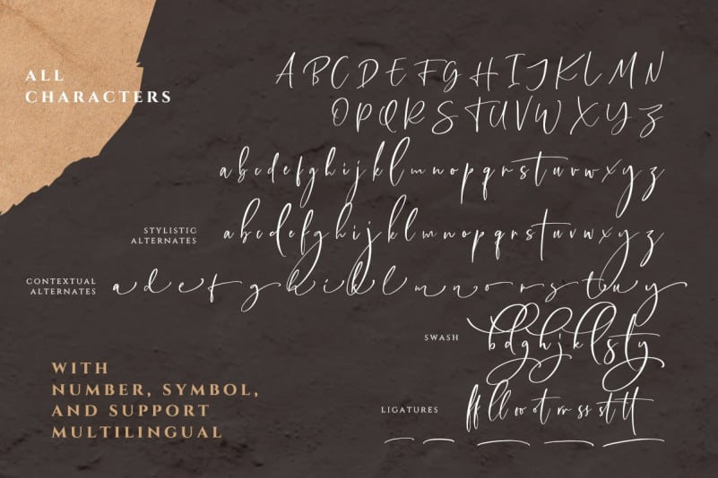 Download Callistera font (typeface)