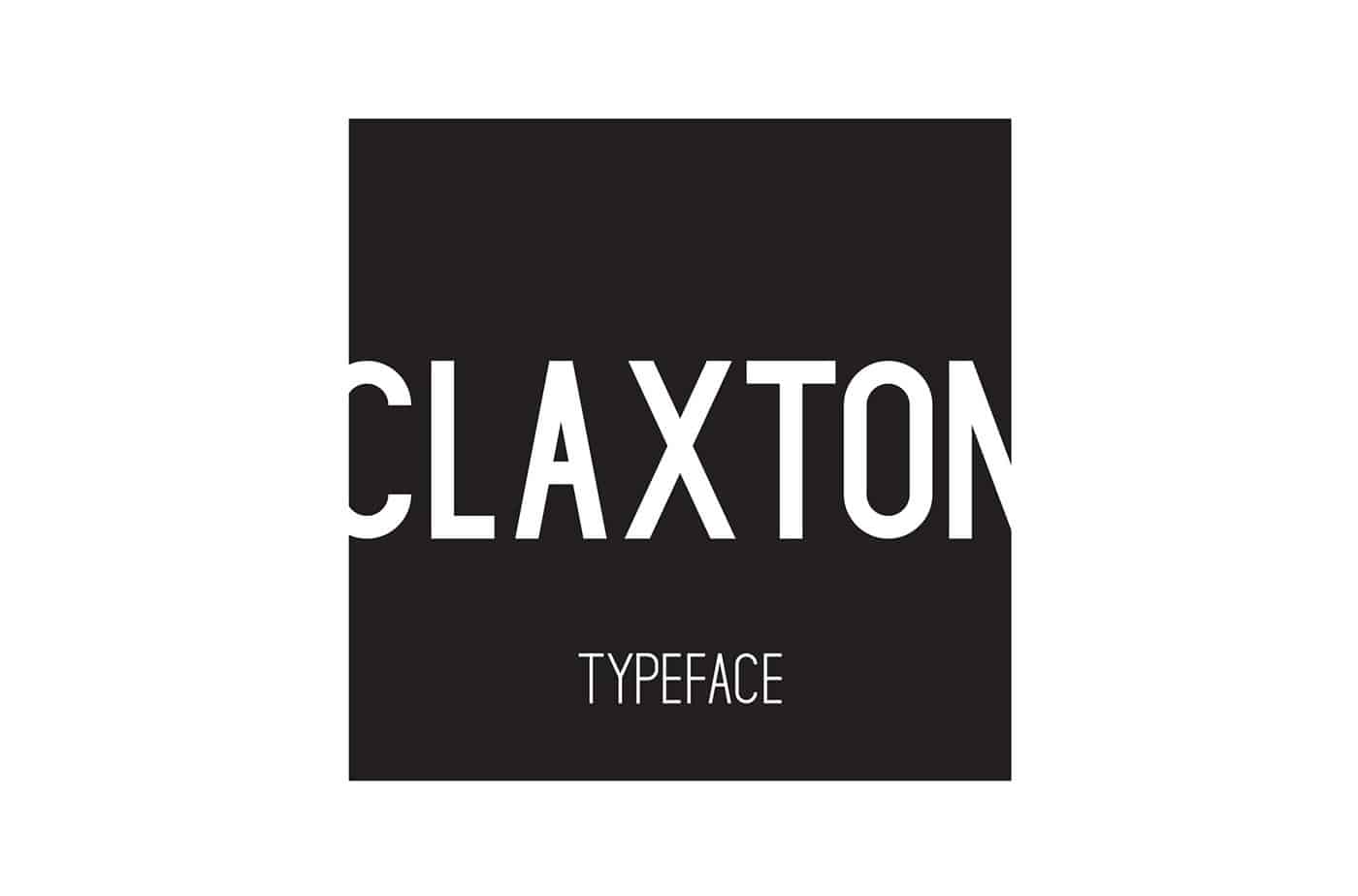 Download Claxton font (typeface)