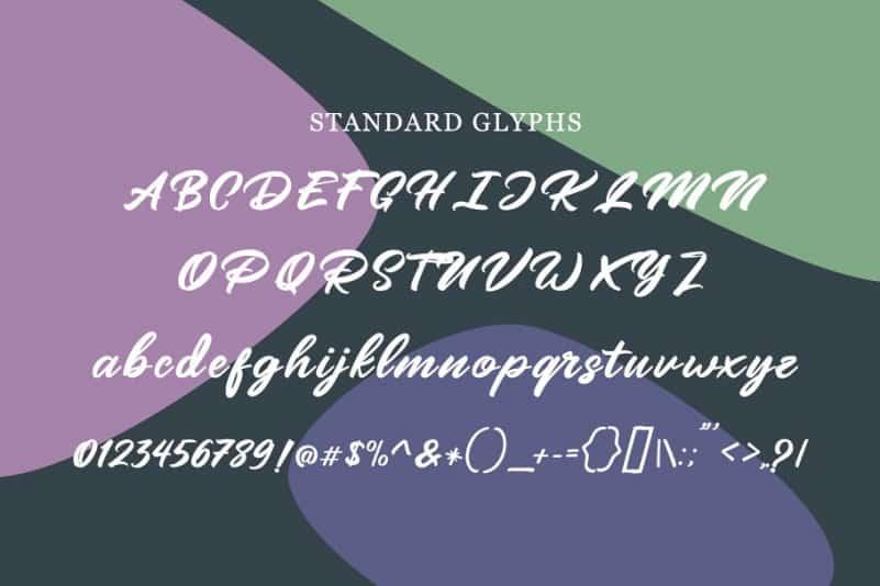 Download Mangotea font (typeface)