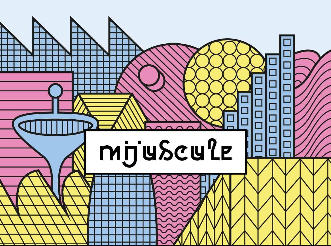Download Mijuscule font (typeface)