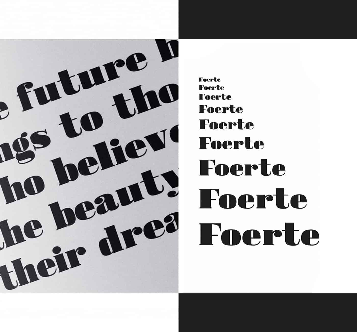 Download Foerte font (typeface)