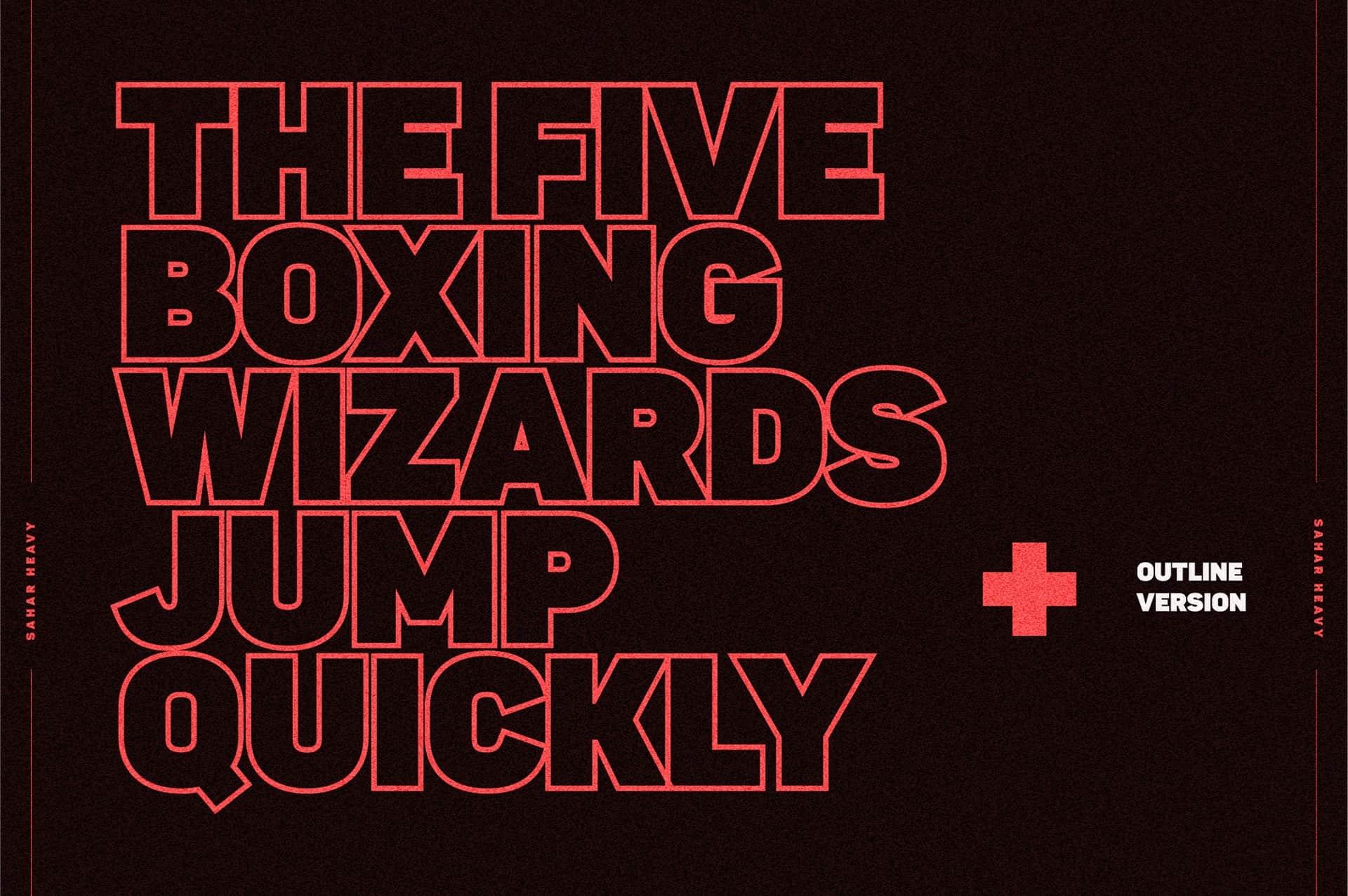 Download Sahar Sans Heavy font (typeface)