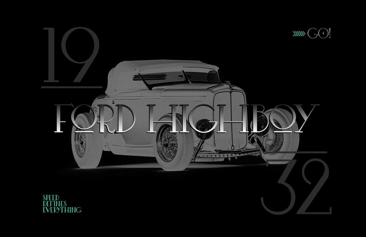 Download Hot rod font (typeface)