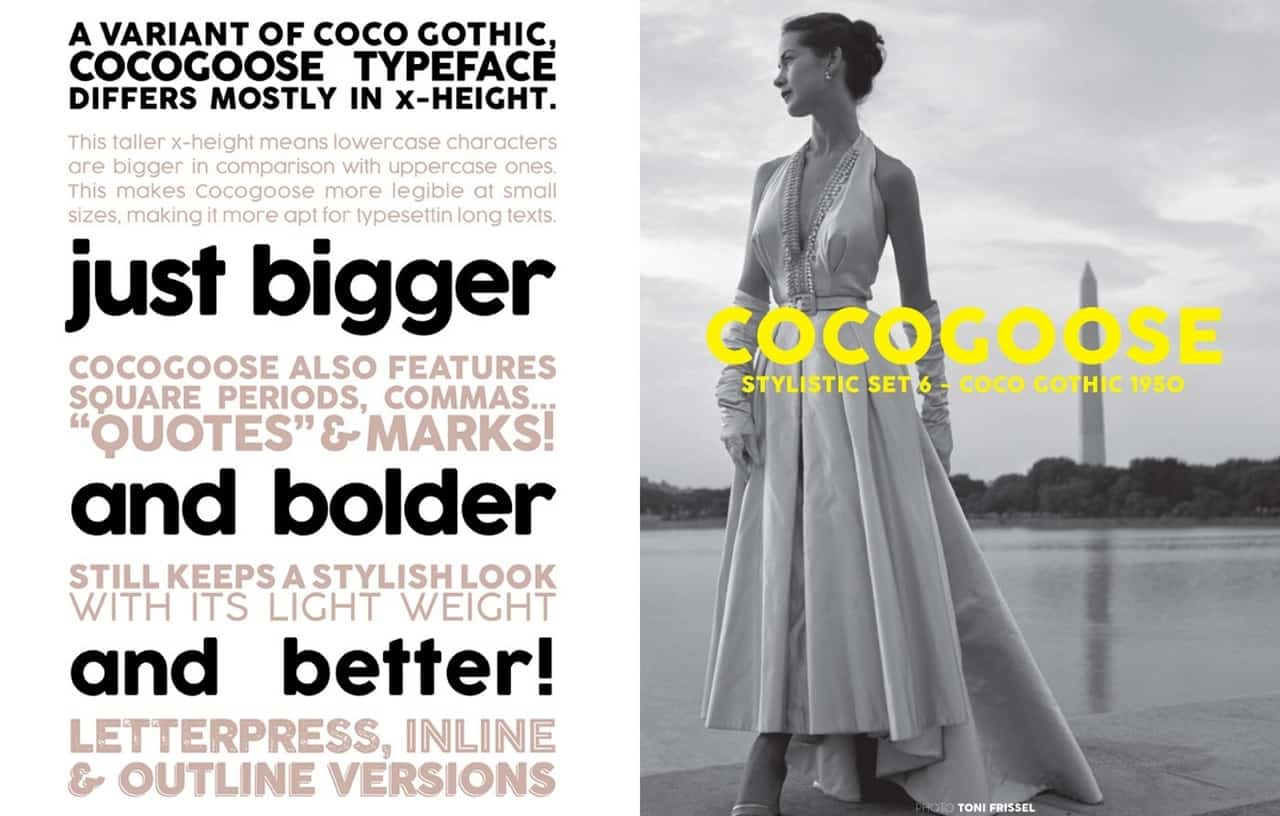Download Coco Gothic font (typeface)
