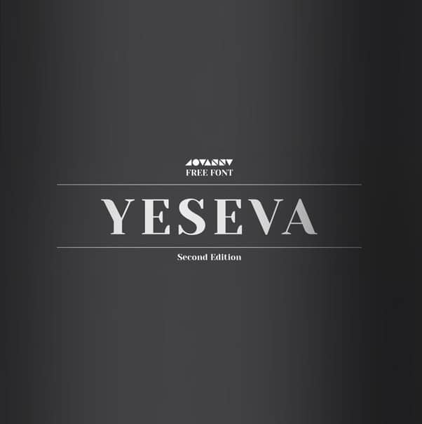 Download Yeseva font (typeface)