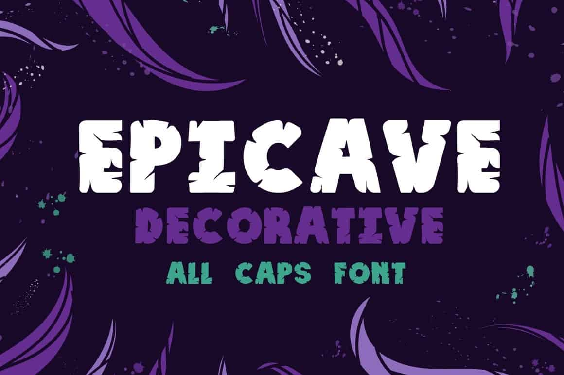 Download Epicave Bold font (typeface)