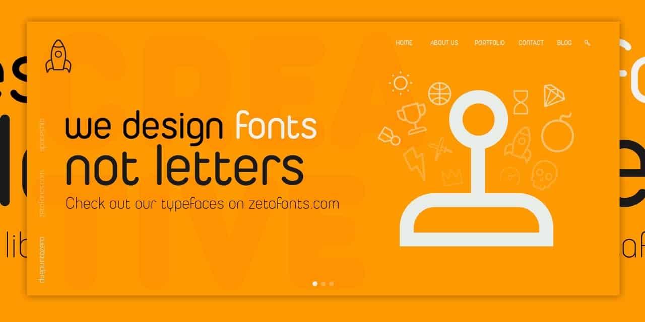 Download Duepuntozero Pro font (typeface)