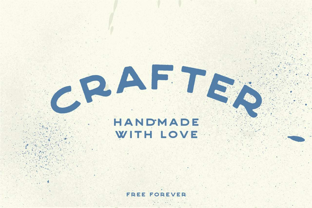 Download Crafter font (typeface)