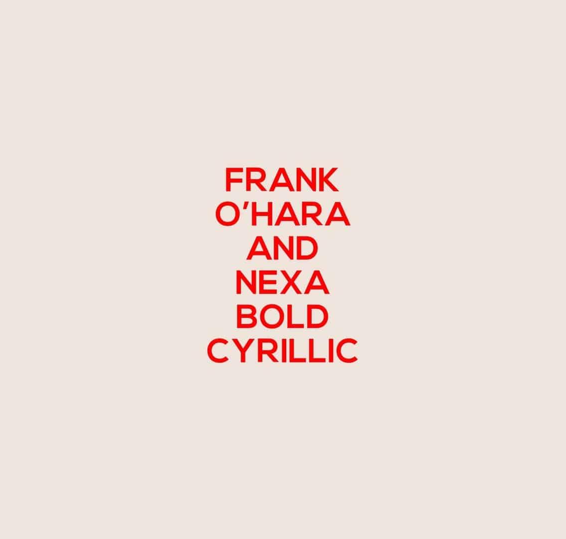 Download NEXA BOLD REPLICA font (typeface)