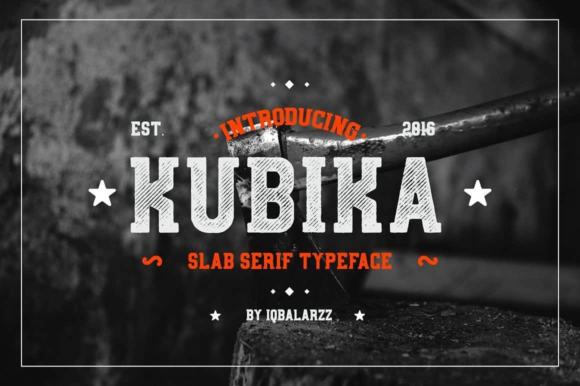 Download Kubika font (typeface)