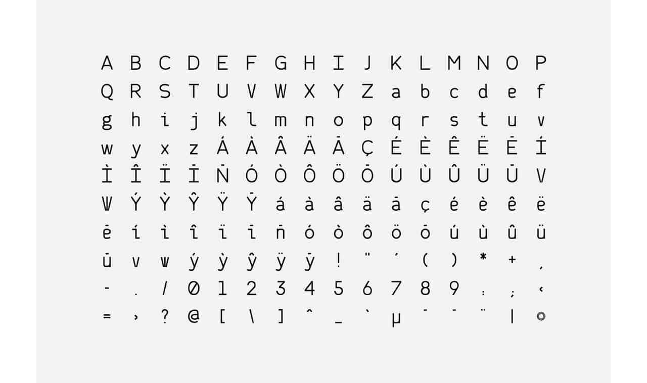 Download Narita font (typeface)