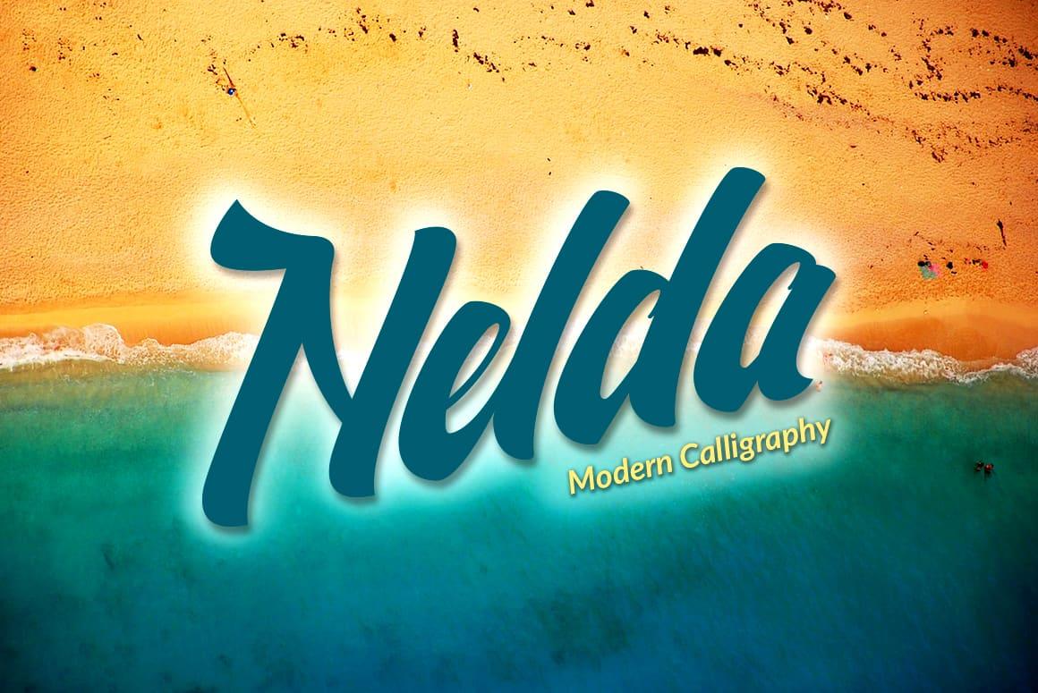 Download Nelda Typeface font (typeface)
