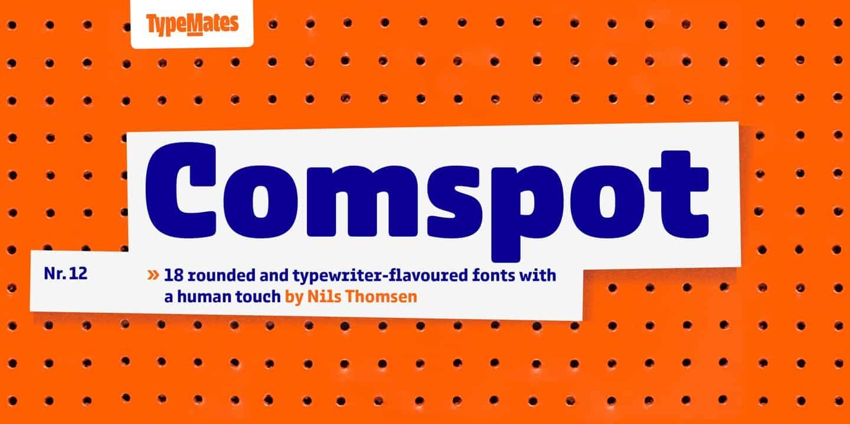 Download Comspot font (typeface)