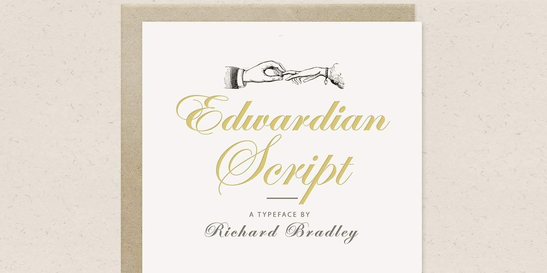 Download Edwardian Script font (typeface)