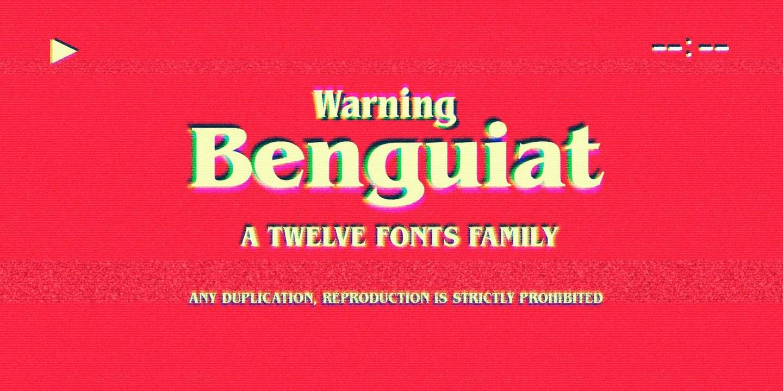 Download Benguiat (strange things) font (typeface)