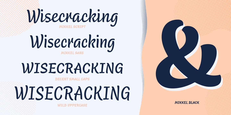 Download Mikkel font (typeface)