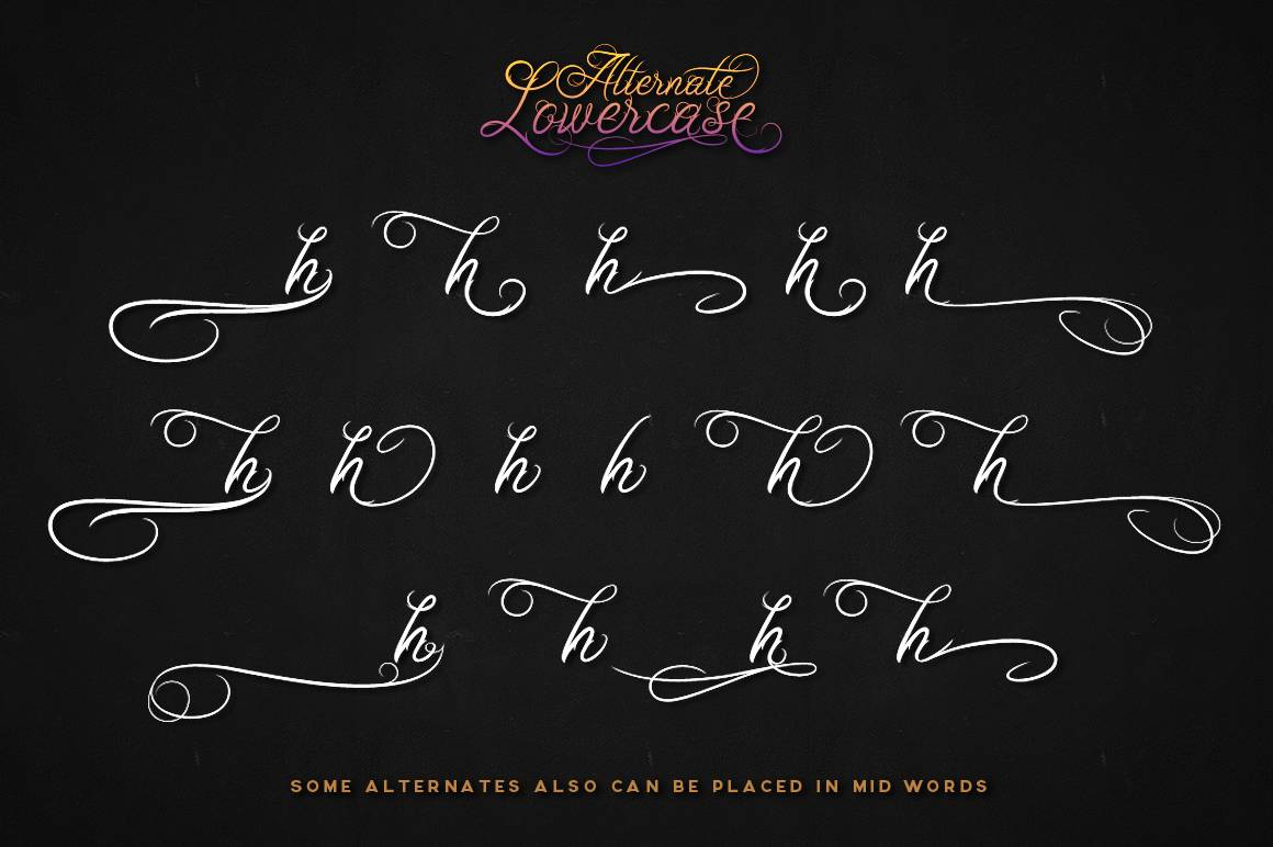 Download Ababil Script font (typeface)