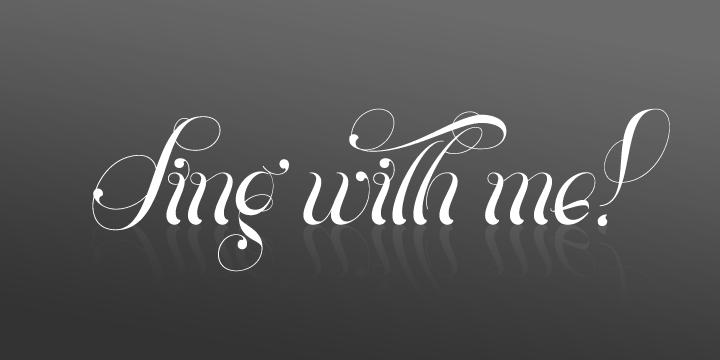 Download Parfait Script font (typeface)