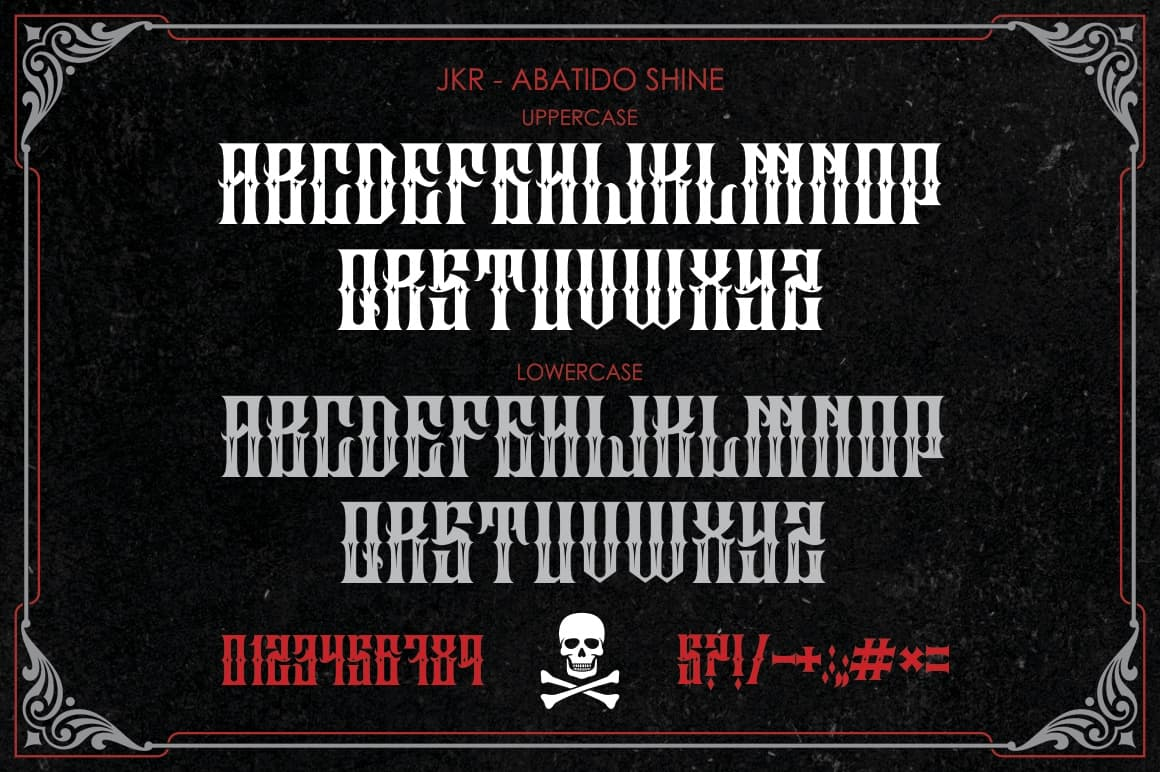 Download ABATIDO font (typeface)