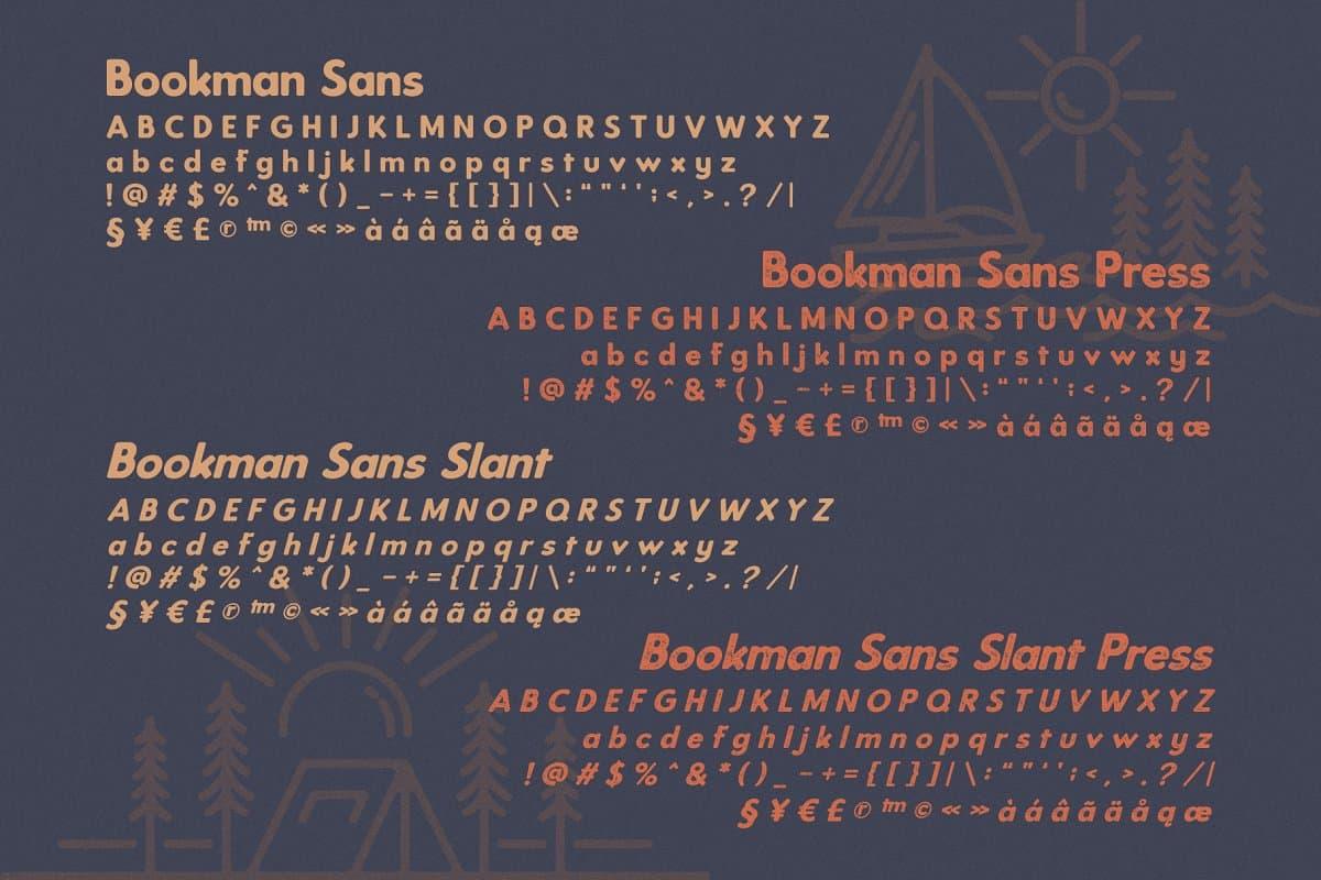 Download Bookman font (typeface)