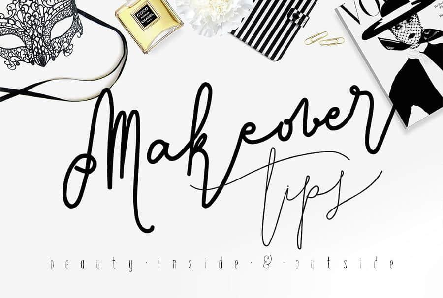 Download Signature Script Modern Handwriting font (typeface)