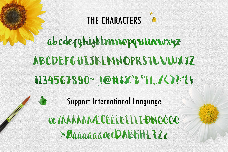 Download Begin Again Brush Typeface font (typeface)